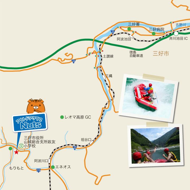 吉野川マップ