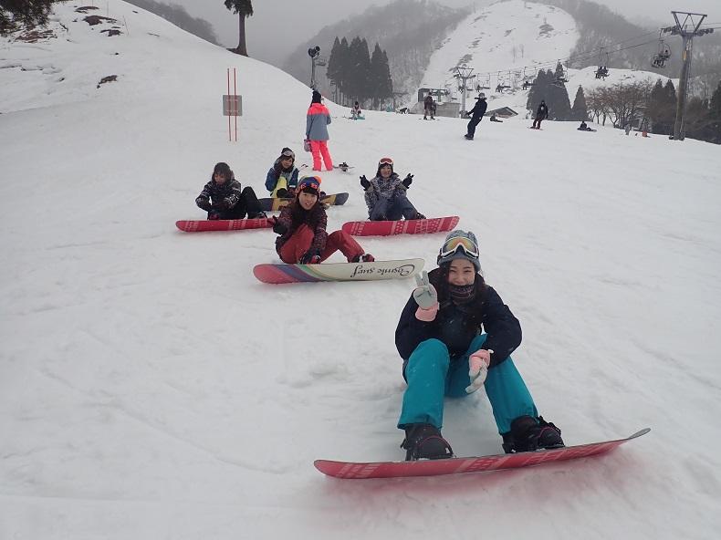 奥伊吹スノーボードツアー 社会人サークルナッツベリー