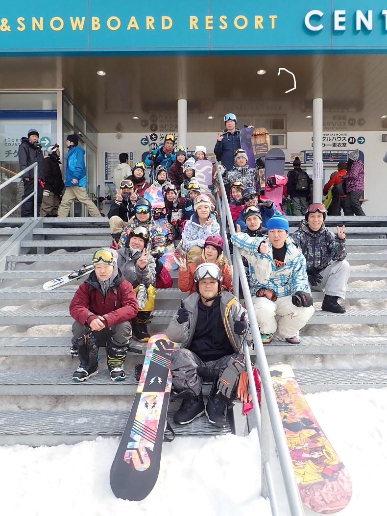 スノーボードサークル ナッツベリー