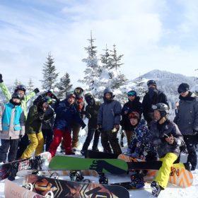 志賀高原スノーボードツアー/社会人サークルナッツベリー