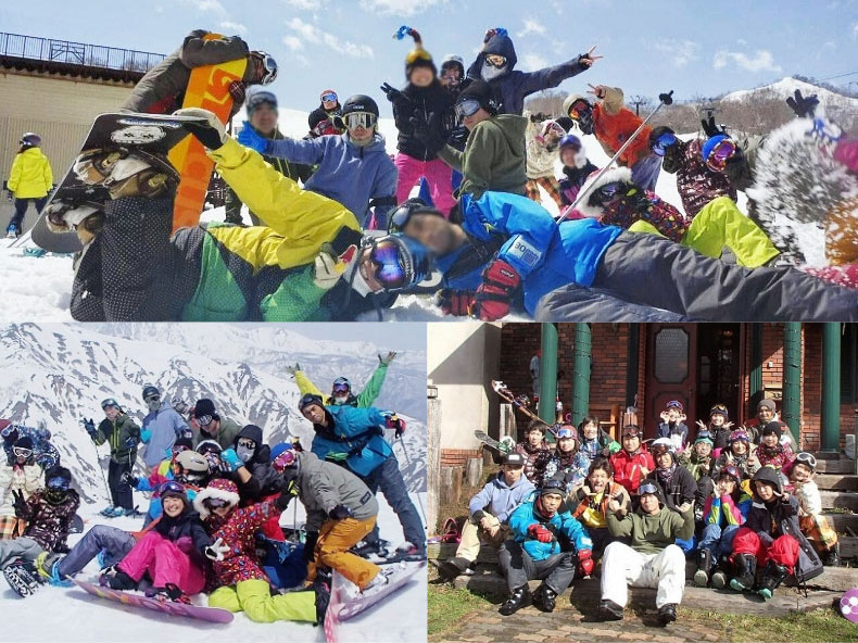 社会人サークルナッツベリー白馬スノーボードツアー
