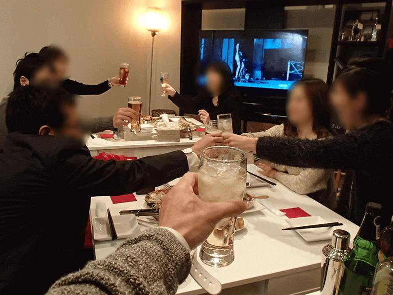 梅田飲み会/社会人サークルナッツベリー