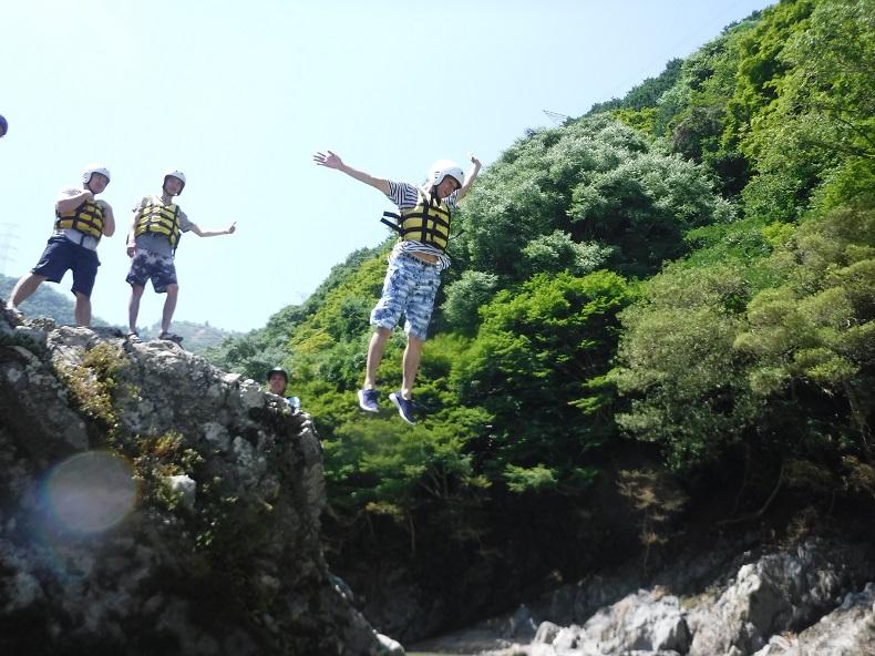 京都 保津川ラフティング