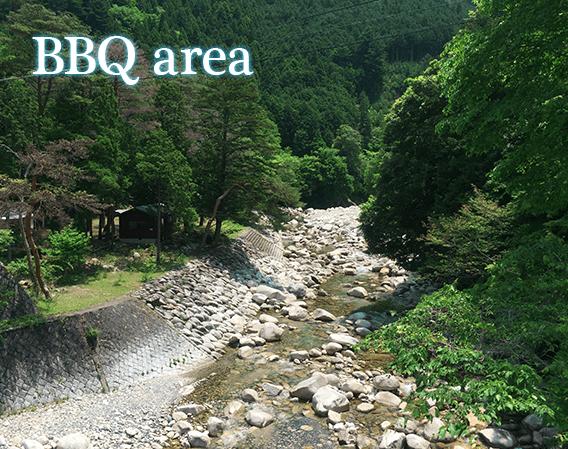 滋賀 神埼川 BBQ場・キャンプ場