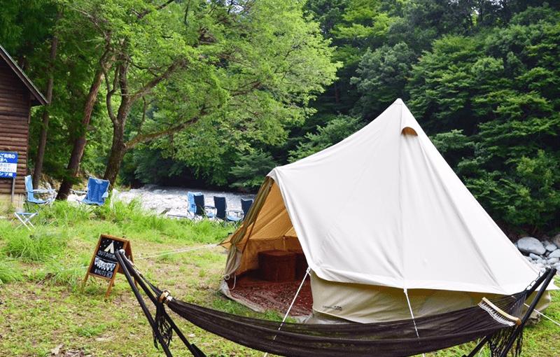滋賀 神埼川 バーベキュー場・グランピングバーベキュー