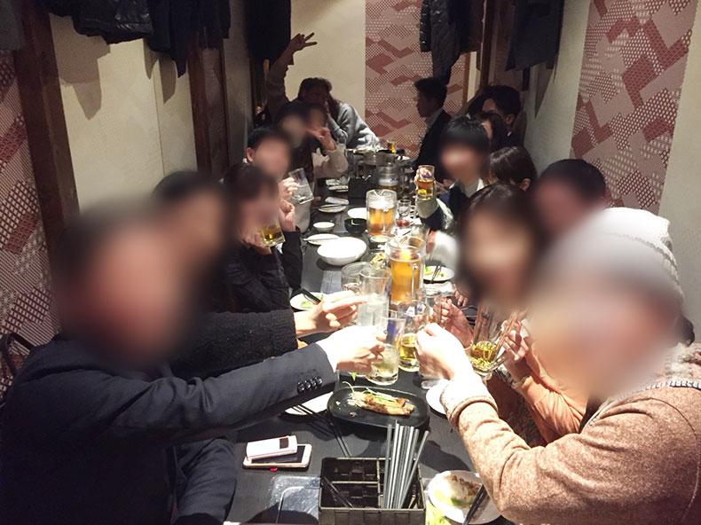 社会人サークルナッツベリー/30代40代飲み会